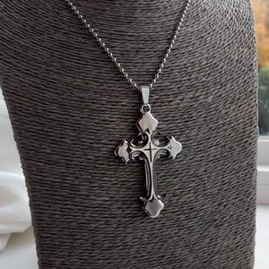 Other - Cross Necklace Religious Mens Gift Unisex